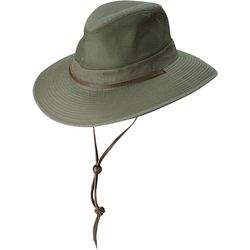 DP Outdoors Mens Big Brim Safari Hat