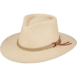 Scala Mens Panama Outback Hat