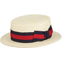 Scala Mens Panama Boater Hat