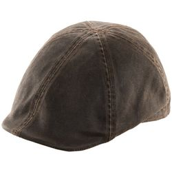 Dorfman Pacific Mens Weathered Cotton Ivy Hat