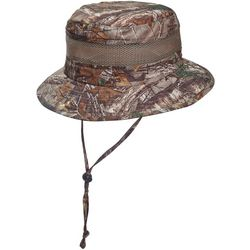 Stetson Mens Camo Bucket Hat