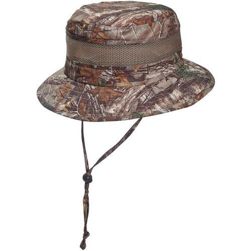 626dd1475da Stetson Mens Camo Bucket Hat