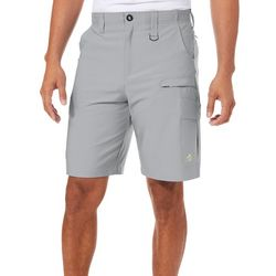 Loco Skailz Mens Solid Performance Cargo Shorts