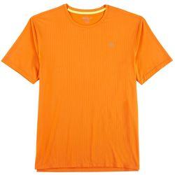 Loco Skailz Mens Pointelle Stripe Short Sleeve T-Shirt