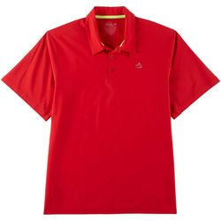 Loco Skailz Mens Solid Fisherman's Polo Shirt