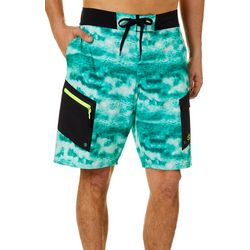 Loco Skailz Mens Skyway Icy Grouper Boardshorts