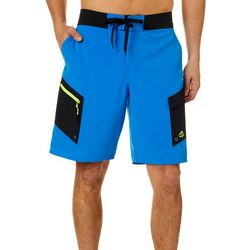 Loco Skailz Mens Skyway Solid Boardshorts