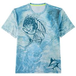 Loco Skailz Mens Second Skin Dorado Crew T-Shirt