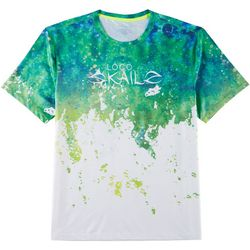 Loco Skailz Mens Second Skin Mahi Skin Short Sleeve T-Shirt