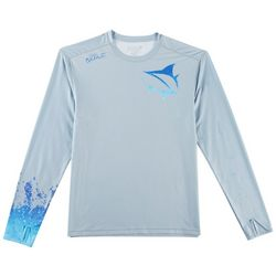 Loco Skailz Mens Submerged Blue Dorado T-Shirt