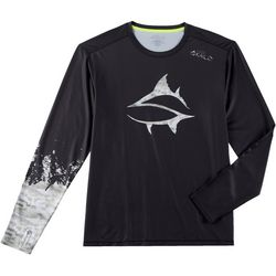 Loco Skailz Mens Grouper Long Sleeve T-Shirt