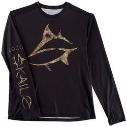 Loco Skailz Mens S Series Flounder Spot T-Shirt