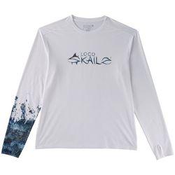 Loco Skailz Mens Submerged Black Bass T-Shirt
