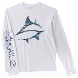 Loco Skailz Mens Submerged S Series Black Bass T-Shirt