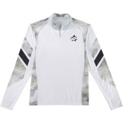 Loco Skailz Mens Tournament Grouper Quarter Zip Shirt