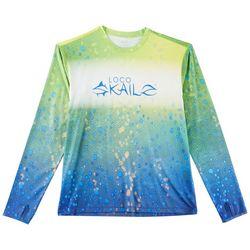 Loco Skailz Mens Second Skin Extreme Dorado T-Shirt