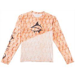 Loco Skailz Mens Second Skin Extreme Redfish T-Shirt