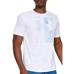 Under Armour Mens Two Tone Logo T-Shirt