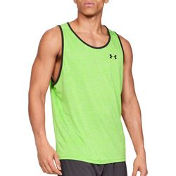 Under Armour Mens UA Tech Heathered Tank Top