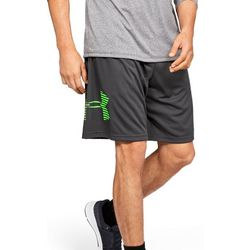 Under Armour Mens UA Tech Graphic Logo Shorts