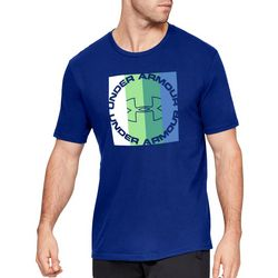 Under Armour Mens Stepped Color Graphic T-Shirt