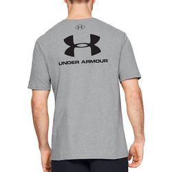 Under Armour Mens Sportstyle Logo Heathered T-Shirt