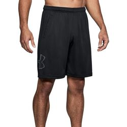 Under Armour Mens Solid Tech Graphic Shorts