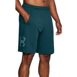 Under Armour Mens Tech UA Logo Graphic Shorts
