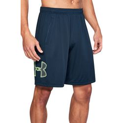 Under Armour Mens Tech UA Neon Logo Graphic Shorts