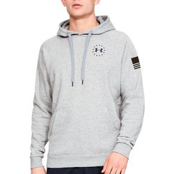 Under Armour Mens UA Freedom Flag Rival Hoodies