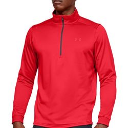 Under Armour Mens Fleece Zip Placket Pullover