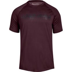 Under Armour Mens Graphic Logo Tech T-Shirt
