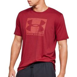 Under Armour Mens UA Boxed Sportstyle Short Sleeve T-Shirt