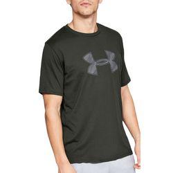 Under Armour Mens UA Big Logo Crew T-Shirt