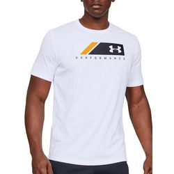 Under Armour Mens UA Logo Stripe T-Shirt