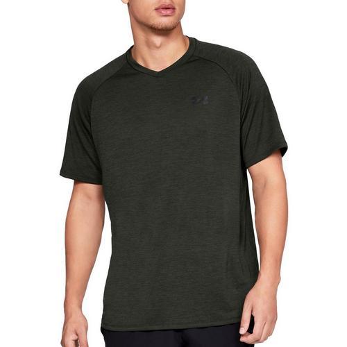 a35ac7452c Under Armour Mens UA Tech V-Neck Raglan T-Shirt