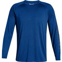 Under Armour Mens Tech Raglan Long Sleeve T-Shirt