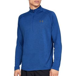 Under Armour Mens UA Tech Half Zip T-Shirt