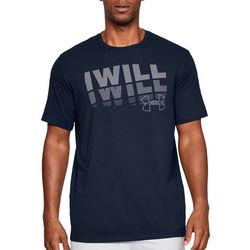 Under Armour Mens UA I Will Short Sleeve T-Shirt