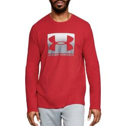 Under Armour Mens UA Boxed Sportstyle Long Sleeve T-Shirt