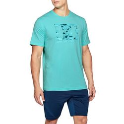 Under Armour Mens Boxed Logo Tech T-Shirt