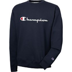 Champion Mens Classic Fleece Logo Sweatshirt