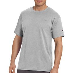 Champion Mens Classic Jersey Ringer Heathered T-Shirt