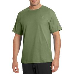 Champion Mens Classic Jersey Heathered T-Shirt