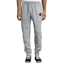Champion Mens Fleece Logo Jogger Pants