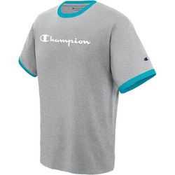 Champion Mens Jersey Ringer T-Shirt
