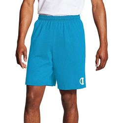 Champion Mens Classic Jersey Side Logo Shorts