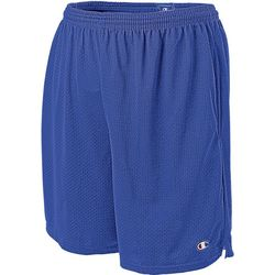 c4ad1b20275470 Champion Mens Long Mesh Pocket Shorts
