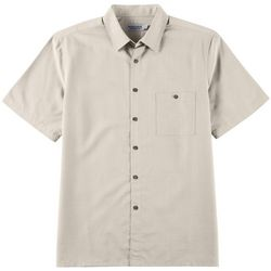 Windham Pointe Mens Soft Plaid Print Button Down Shirt