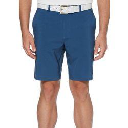 PGA TOUR Mens Herringbone Flat Front Golf Shorts